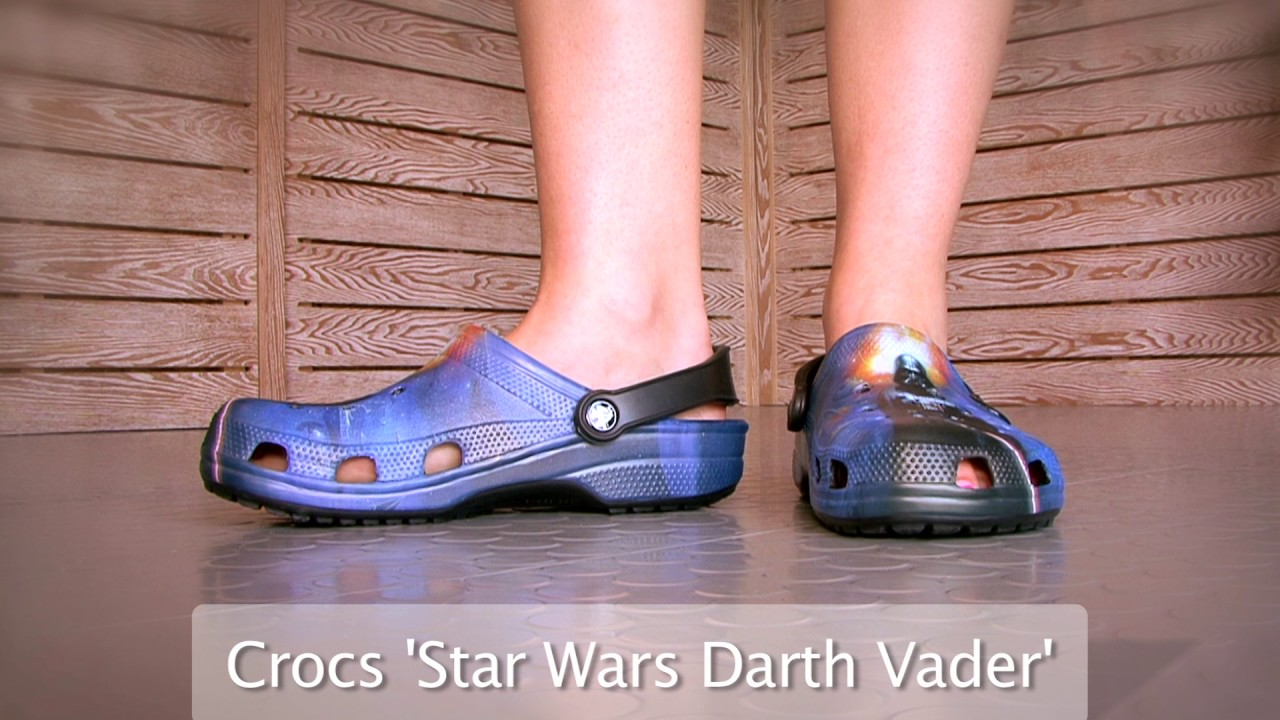 d54855f13de5 Star Wars Crocs Adults Classic Darth Vader Clog at World of Clogs ...