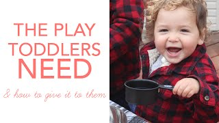 LoveParenting: Schemas in Early Childhood - Toddlers Driving You Crazy