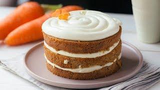 CARROT CAKE & CREAM CHEESE FROSTING - BÁNH CÀ RỐT KEM PHÔ-MAI