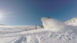 Горные снегоходы с командой Restless. Приисковый 2015