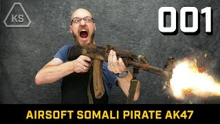 Rusted Pirate Airsoft AK47 | BUILD 001