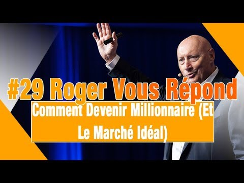 rogervousr pond comment devenir millionnaire et le march id al youtube. Black Bedroom Furniture Sets. Home Design Ideas