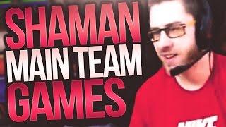 MAIN TEAM SHAMAN GAMES! ft Snutz & BSX - Cdew 7.2 Legion Arena Gameplay