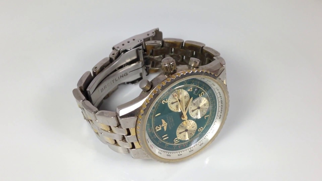 46c660960ef6 RELOJ BREITLING ¿original o copia  - YouTube