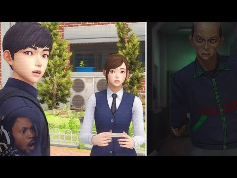KOREAN HORROR GAME LIKE CORPSE PARTY   White Day: a labyrinth named school [Gameplay]