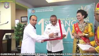 KEGIATAN GUBERNUR GORONTALO TANGGAL 11 FEBRUARI 2016