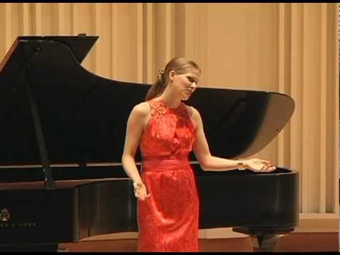 """Katarzyna Sadej sings """"Dzwon Zapustny"""""""