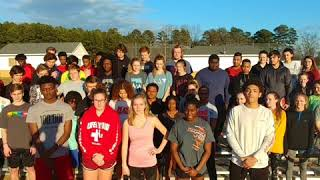 Mauldin track and field 2018