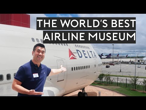 The World's BEST AIRLINE Museum + Operation Center Tour