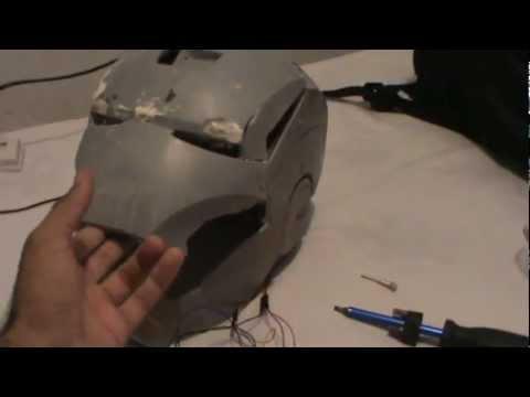 Capacete Homem De Ferro Automatizacao Parte 2 Iron Man Helment