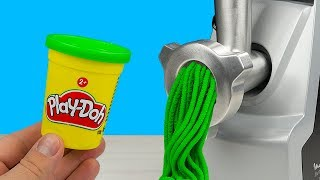 EXPERIMENT: MEAT GRINDER VS PLAY DOH
