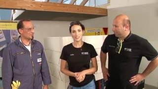 ISOVER live ✔ Mauerwerksabdichtung an Gebäude-Ecke mit SG Weber ★ Web TV für Handwerker