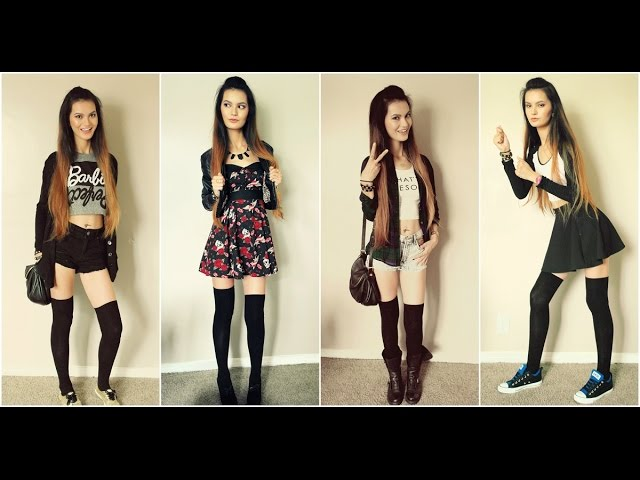 How to Style Knee/Thigh High Socks