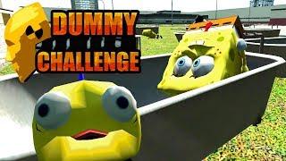 SPONGEBOB BATHTUB CHALLENGE!! (THE DUMMY CHALLENGE 3!)