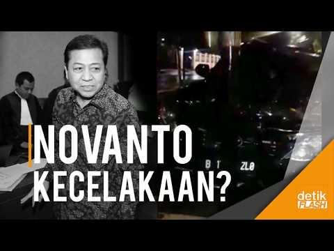 Download Youtube: Breaking News!! Beredar Video Mobil Novanto Alami Kecelakaan