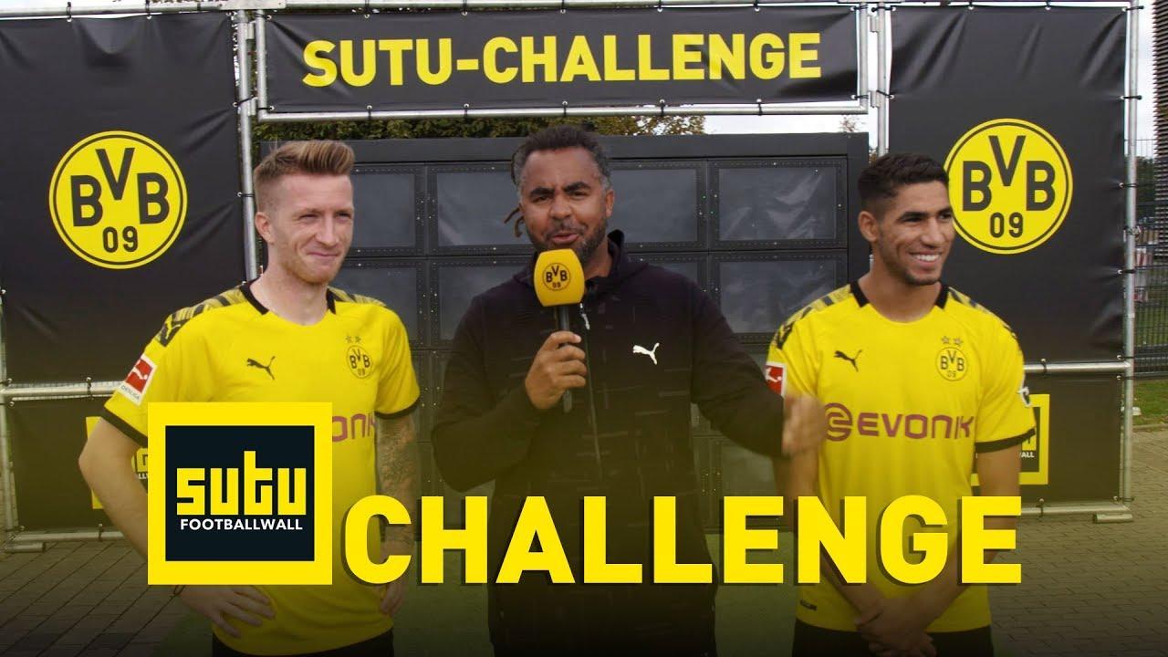 Die BVB-Sutu-Challenge | Marco Reus & Achraf Hakimi | Episode 2