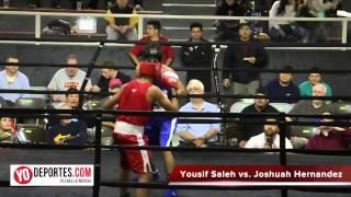 Joshuah Hernandez vs Yousif Saleh Chicago Golden Gloves Open 132