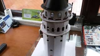 el yapımı galata kulesi maketi
