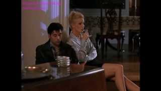 Shannon Tweed: Forbidden Sins (1999) Silver Satin Blouse Part 2