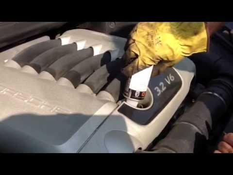 Trattamento motore Porsche Cayenne 3.2 V6 con Metabond ECO