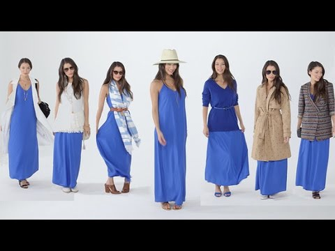 f785f13ef11a 7 Smart Ways to Style a Maxi Dress - YouTube