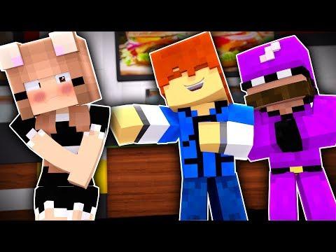 Minecraft Friends - TINA'S JOB !? (Minecraft Roleplay)