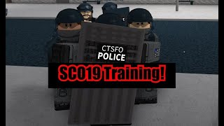 Roblox London City of London SC019 Training Safe!