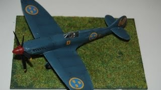- Building Review - Supermarine Spitfire PRXIX 1/72 scale