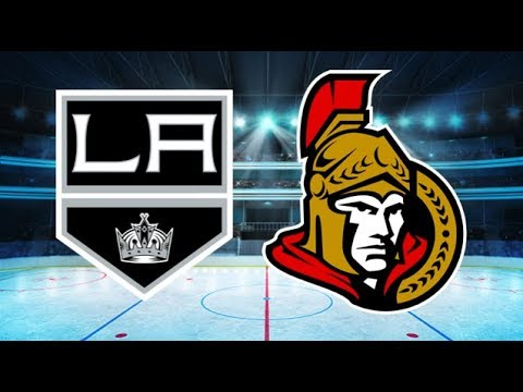 Los Angeles Kings vs Ottawa Senators (1-5) – Oct. 13, 2018 | Game Highlights | NHL 2018