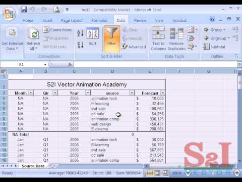 Tutorial pdf ms tamil in 2007 office