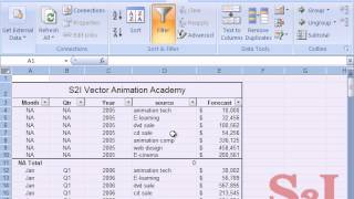 Microsoft excel Tutorial in Tamil