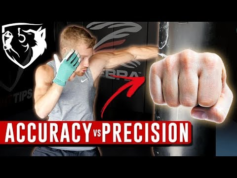 Accuracy vs Precision: Gardening Gloves/Bare-Knuckle Boxing