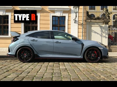 2018 Honda Civic Type R Sonic Grey Inside Lane Youtube