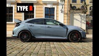 homepage tile video photo for 2018 Honda Civic Type R Sonic Grey - Inside Lane