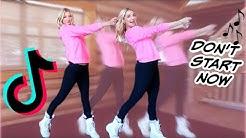 TEACHING MY VIRAL TIKTOK DANCE (Don't Start Now)