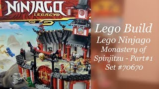 LEGO Ninjago Build - Monastery Of Spinjitzu Set #70670 - Part 1