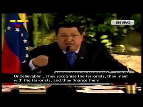 Hugo Chavez Talking About Nations Supporting Terrorism