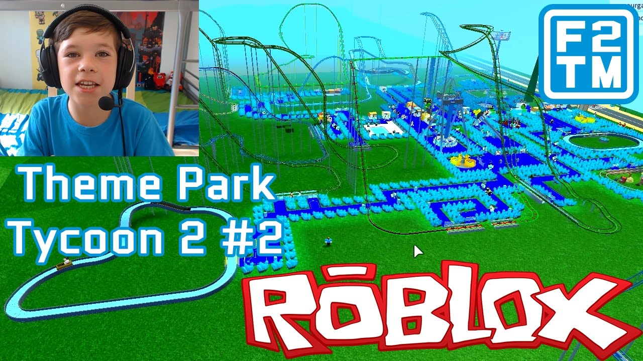 Theme Park Tycoon 2 2 Roblox I Am Meeting Dantdm I Have