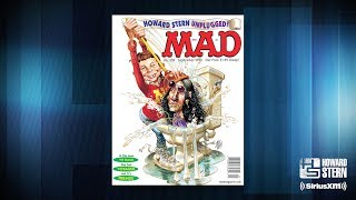Howard Stern Graces the Cover of MAD Magazine (1995)