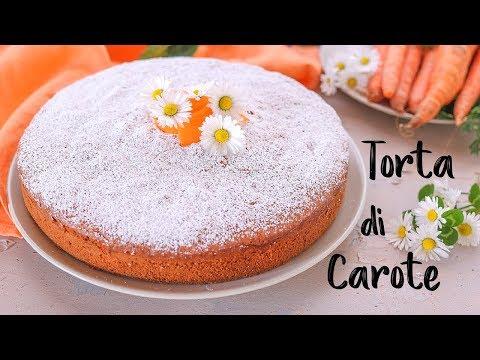 TORTA DI CAROTE SOFFICE Ricetta Facile - FATTO IN CASA DA BENEDETTA