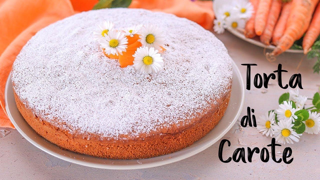 torta di carote soffice ricetta facile fatto in casa da