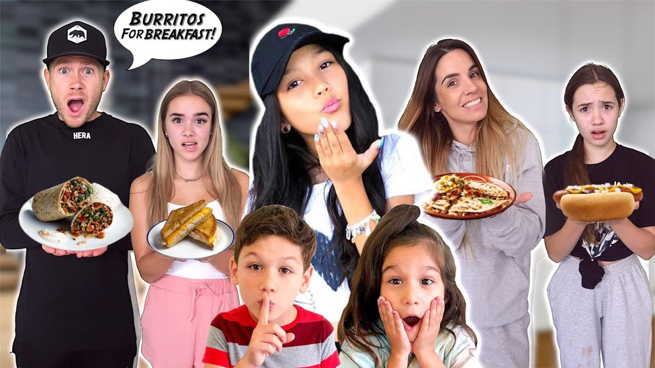 WE COPIED FAMILIA DIAMOND's DIET for 24HRS!