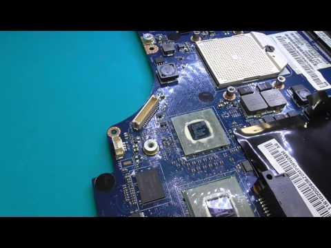 Lenovo G565 после неудачной профилактики С.О