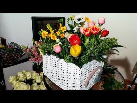În grădina Danei: Cultivarea lalelor şi aranjament floral pentru 8 Martie (@TVR1)