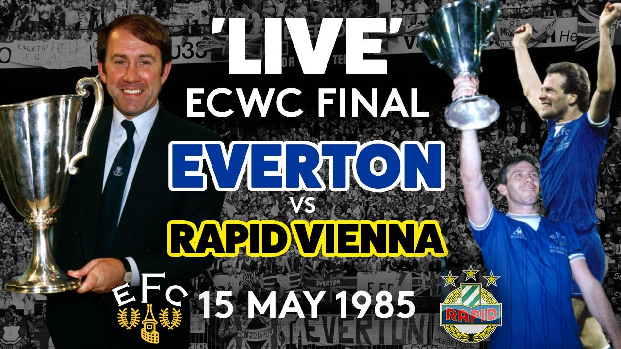 FULL GAME: EVERTON V RAPID VIENNA | 1985 EUROPEAN CUP WINNERS' CUP FINAL!