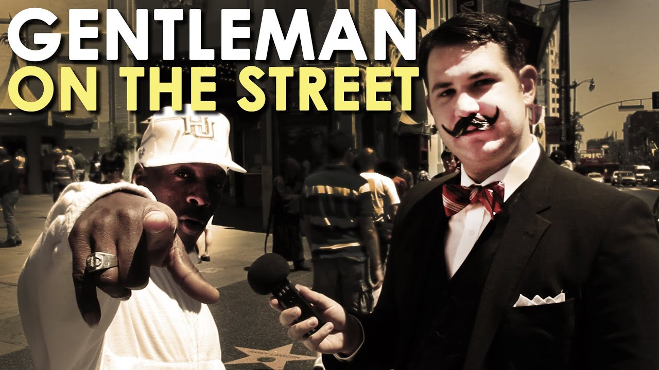 What Is Manliness?   Gentleman on the Street