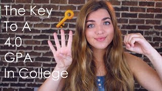 How to Get Straight A's in College // Tips for Getting a 4.0