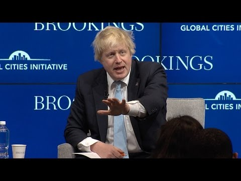 A Conversation with London Mayor Boris Johnson and San Diego Mayor Kevin Faulconer