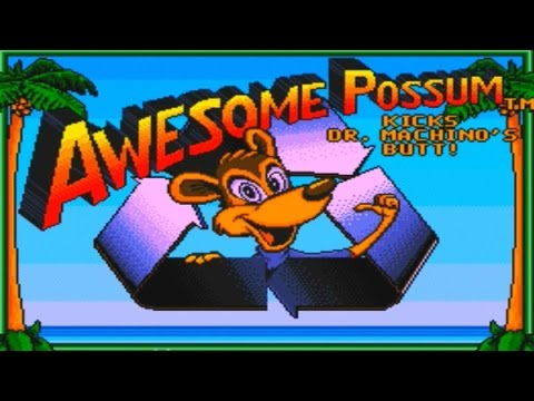 Awful Videogames: Awesome Possum Review