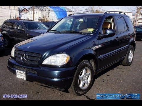 2001 mercedes benz ml class ml320 4matic awd suv youtube for 2001 mercedes benz m class ml320